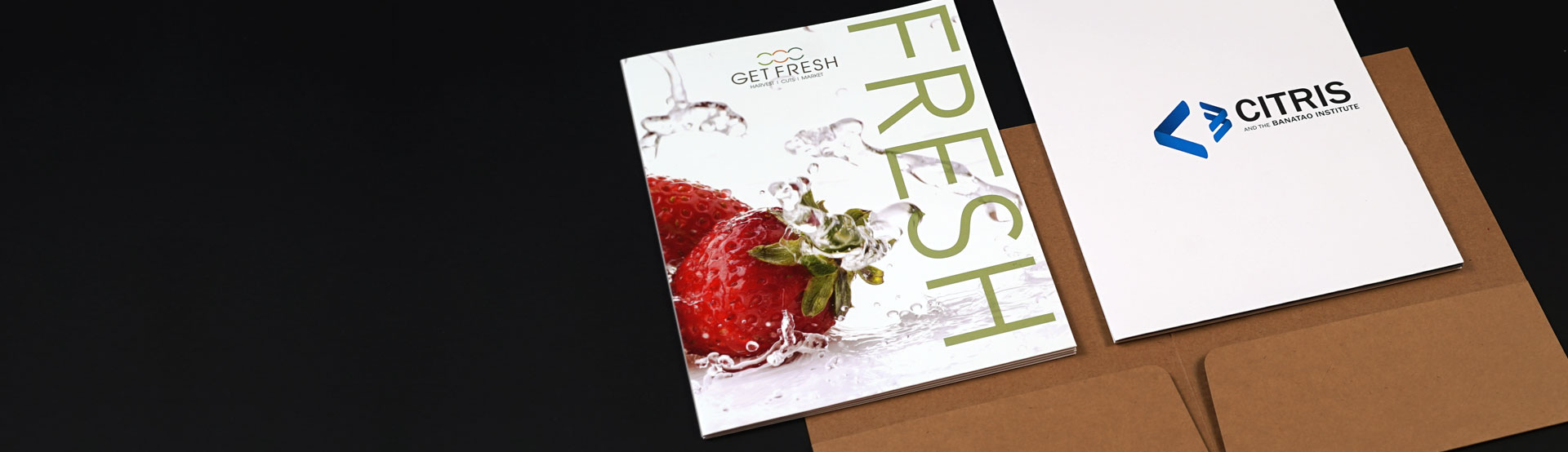 Environmentally Friendly Presentation folders Printing
